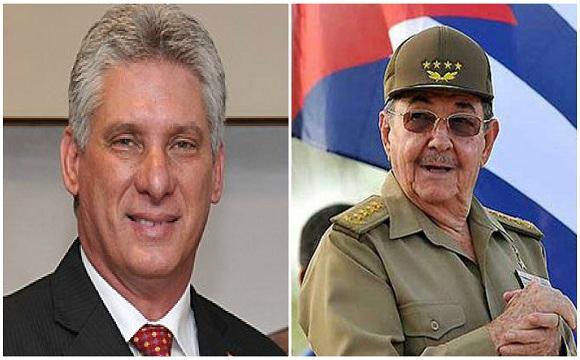 Felicitan Raúl y Díaz-Canel a integrantes del Ministerio del Interior