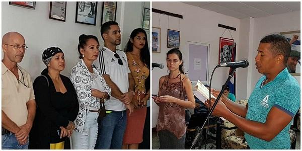 Protagonizan radialistas camagüeyanos acto de desagravio a José Martí (+ Post)