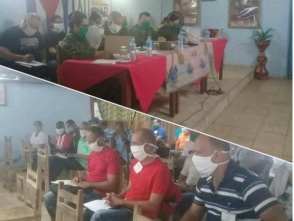 Fiscalizan autoridades de Camagüey funcionamiento de los Consejos de Defensa Municipales