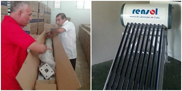 Comenzó en Camagüey la comercialización de calentadores solares para la población