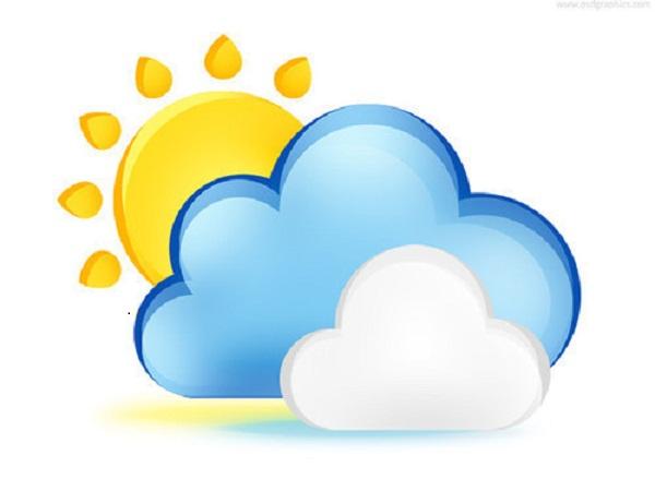 Día fresco en Camagüey, con nublados ocasionales y aisladas precipitaciones
