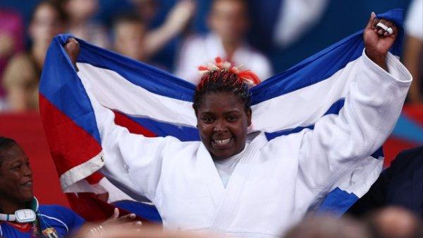 Judoca cubana Idalys Ortiz en la cima del ranking mundial