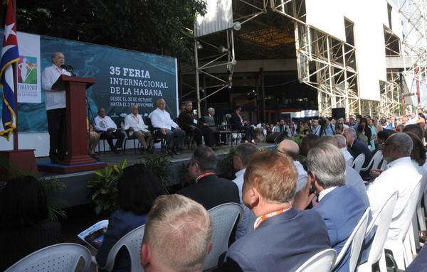 Se ratifica FIHAV como la principal vía para hacer negocios con Cuba