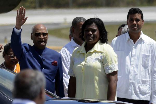 Presidente indio comienza visita oficial a Cuba
