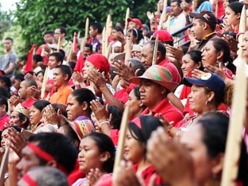 Resaltan protagonismo de indígenas en la Revolución bolivariana