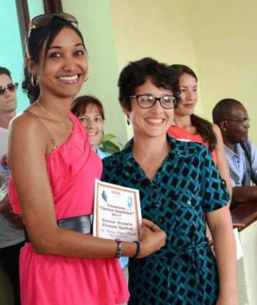 Reconocen en Camagüey a profesionales y estudiantes de Periodismo (+ Fotos)
