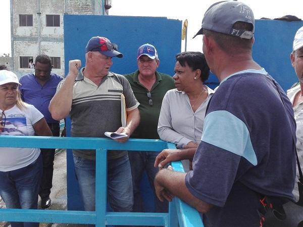Constata Vicepresidenta cubana en Camagüey avances en rehabilitación de Planta Potabilizadora
