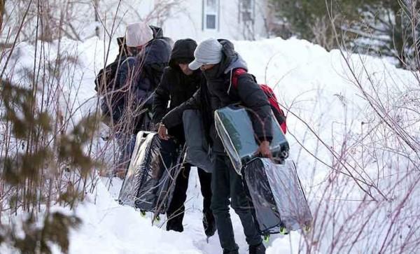 Crece llegada a Canadá de inmigrantes procedentes de EE.UU.