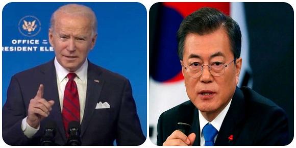 Presidentes de Estados Unidos y Corea del Sur planean encuentro para mayo próximo