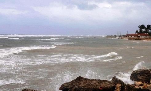 Pronostican lluvias en occidente y marejadas en el oriente cubano