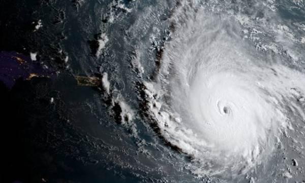 Irma tiene el tamaño de Francia.