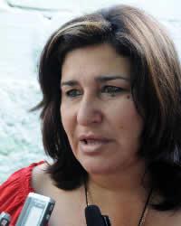 Diputada Isabel González Cárdenas.