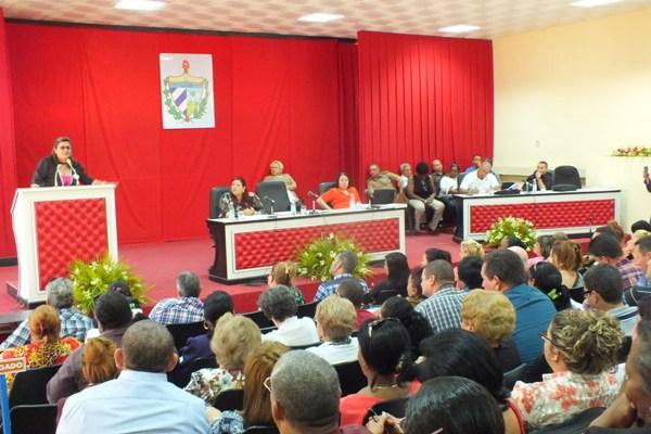 La Presidenta de la Asamblea llamó a los camagüeyanos a festejar masivamente el 1ro de mayo.