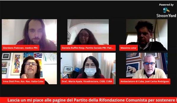 Reconocen italiano logros del sistema cubano de Salud