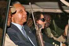 Duvalier a disposición de la justicia haitiana