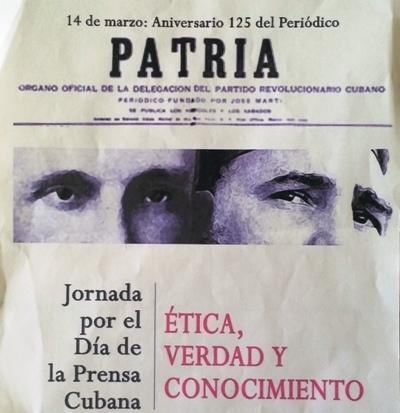 Martí y Fidel protagonizan Jornada por el Día de la Prensa Cubana en Camagüey