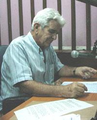 José Luis Cadenas Arango. Foto: Radio Cadena Agramonte