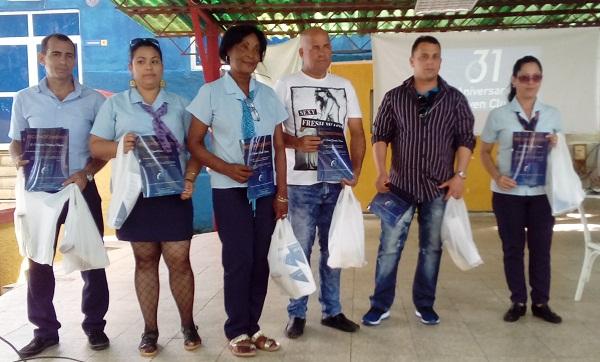 Reconocen en Camagüey a trabajadores de los Joven Clubes de Computación