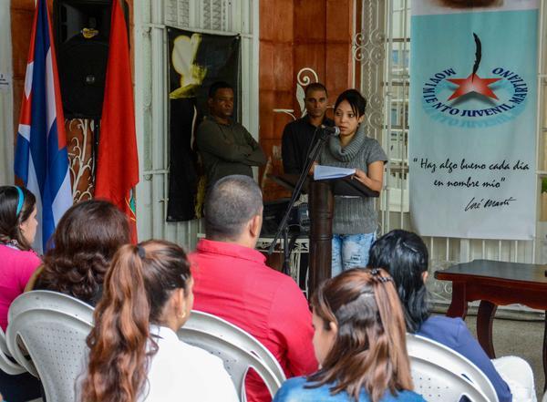 Jóvenes del mundo se dan cita en Cuba para honrar a José Martí