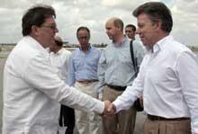 Presidente de Colombia ya está en Cuba