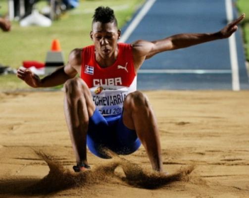 Camagüeyano Juan Miguel Echevarría, mejor ubicado por Cuba en ranking de la IAAF