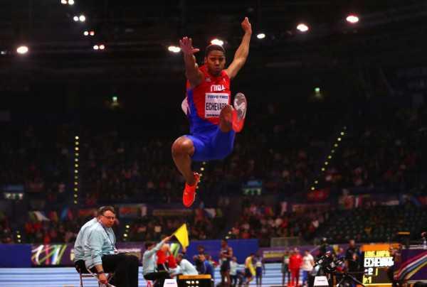 Juan Miguel Echevarría: atleta del mes en Camagüey