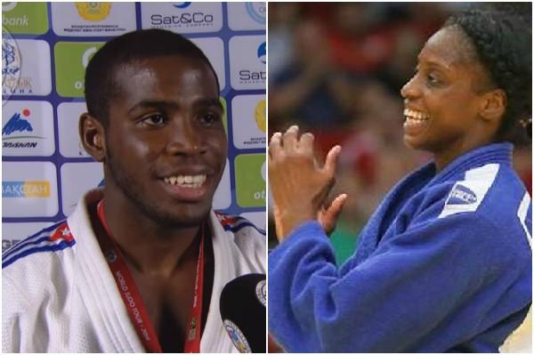 Oro y plata para judocas cubanos en Grand Slam de Brasil