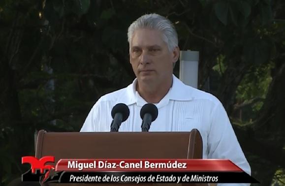 Asegura Díaz-Canel que la Revolución cubana irá siempre por más (+ Fotos y Audio)