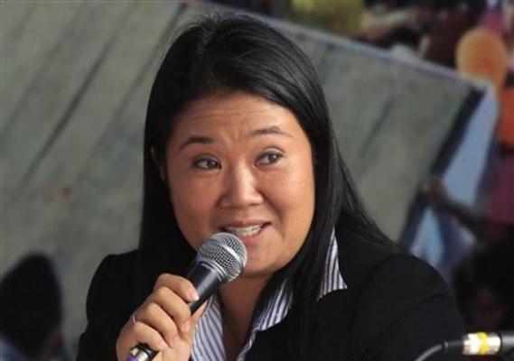 Keiko Fujimori negada a reconocer derrota irreversible en presidenciales de Perú
