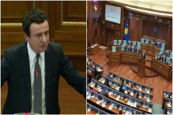 Moción de desconfianza en el Parlamento derrota al Gobierno de Kosovo