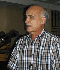 doctor en Ciencias, Santiago Lajes Choy, rector de la Universidad de Camagüey