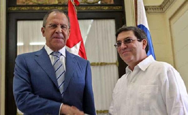Cancilleres de Cuba y Rusia dialogan sobre estrategias frente a la Covid-19