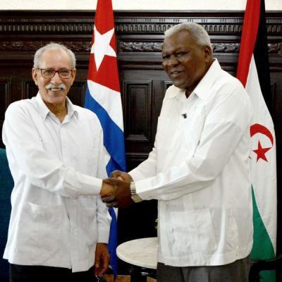 Califica Presidente saharaui a Cuba como ejemplo de resistencia