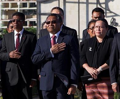 Presidente de Timor-Leste visita institución cubana de docencia médica