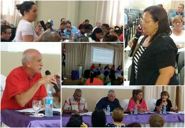 Analizaron diputados camagüeyanos y avileños proyecto de nueva Ley Electoral cubana (+Fotos y Tuit)