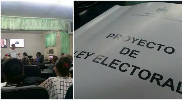 Participan diputados camagüeyanos en presentación del proyecto de nueva Ley Electoral (+Tuit y post)