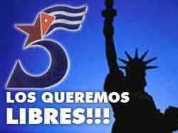 Reclamo de libertad de antiterroristas cubanos llega al Mundial de Fútbol