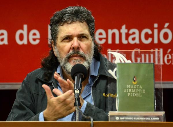 Presentan en Cuba libro Hasta siempre, Fidel