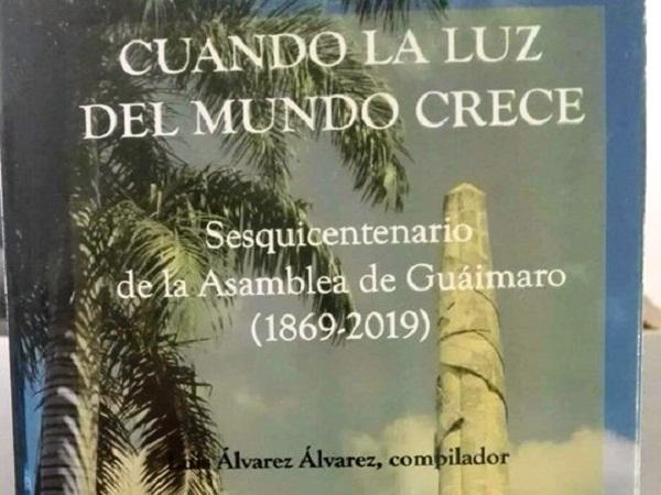 Presentan en La Habana libro de factura camagüeyana sobre Asamblea de Guáimaro