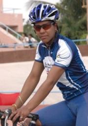 Plata para Lisandra Guerra en velocidad de Copa Mundial de Ciclismo