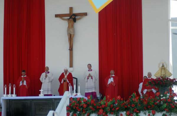 Obispo de Holguín subraya trascendencia de visita del Sumo Pontífice