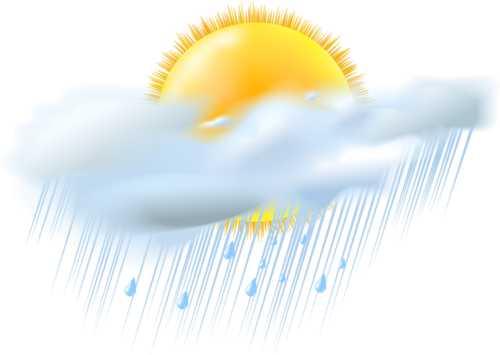 Otro día con predominio de nublados y lluvias en Camagüey