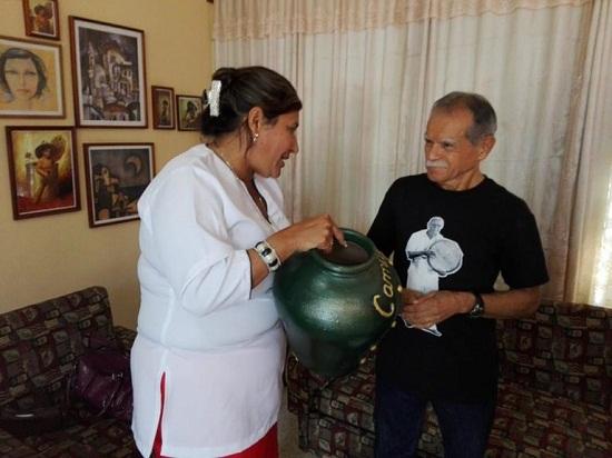 Envía Oscar López Rivera un mensaje al pueblo camagüeyano