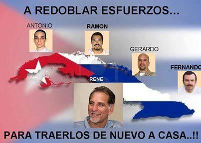 Piden libertad de Los Cinco grupos comunales del mundo