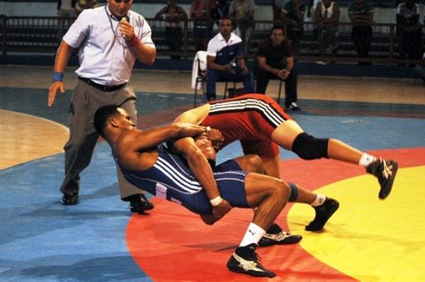 Gladiadores cubanos del estilo libre en Mundial de Lucha sub 23