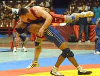 Retiene Lugo corona en torneo de Lucha Grecorromana