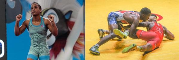 Dos cubanos hoy a la repesca en Campeonato Mundial de Lucha