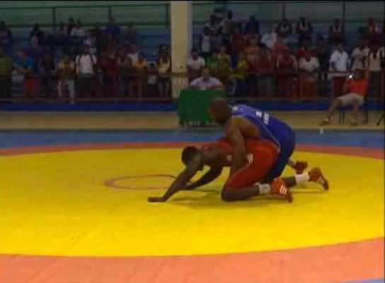 Camagüeyano Lázaro Hernández representará a Cuba en Campeonato Mundial de Lucha sub-23