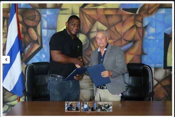 Firman luchadores cubanos con clubes de la Bundesliga Alemana
