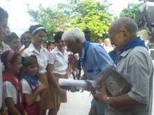 Comparten luchadores del 26 de Julio con pueblo de Camagüey